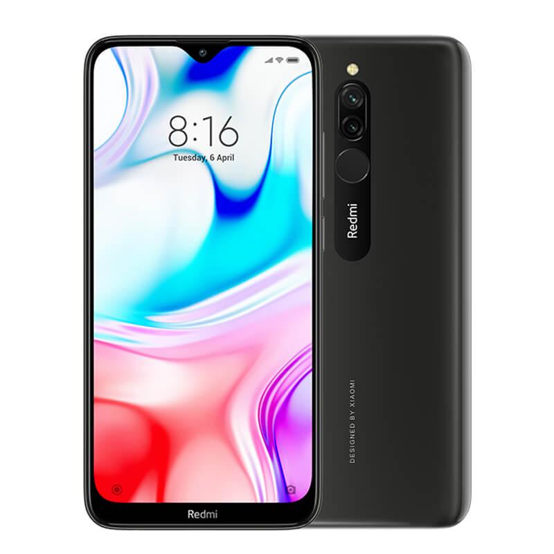 Redmi 8 okostelefon (Global) - 3+32GB, Onyx fekete