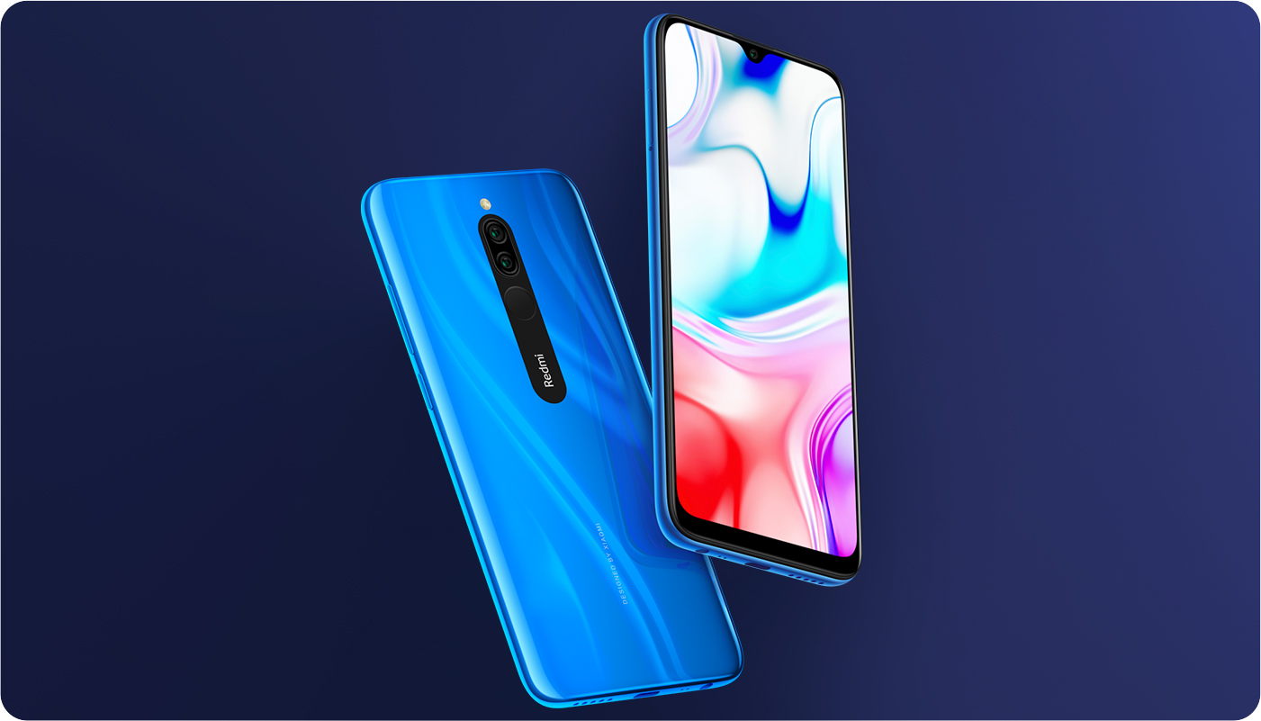 Xiaomi Redmi 8 LTE 32GB - kék