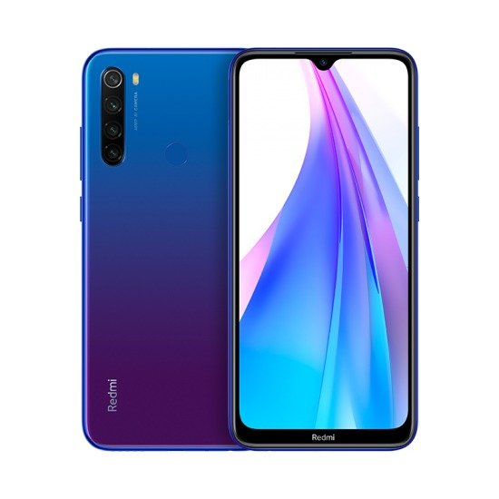 Redmi Note 8T okostelefon - 4+64GB, Starscape Blue