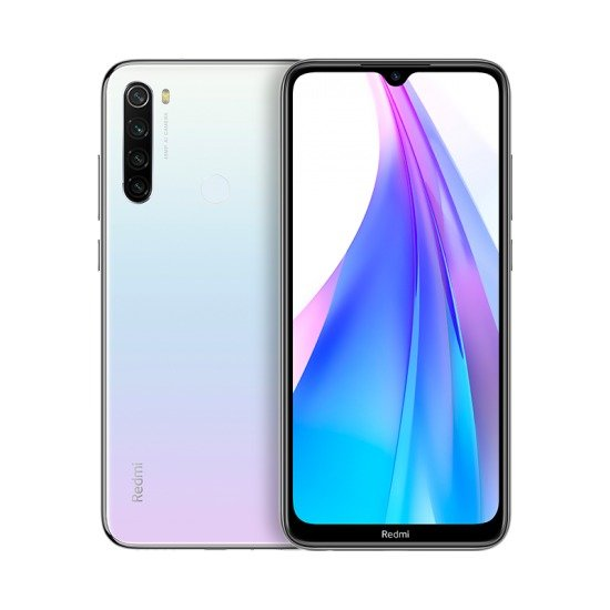 Redmi Note 8T okostelefon - 4+64GB, Moonlight White