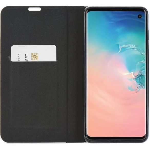 Redmi 8A flip tok, Forcell - Carbon, fekete