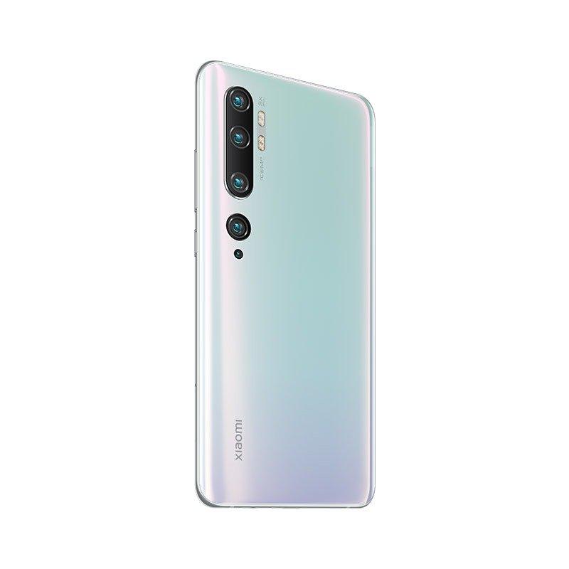 Mi Note 10 Pro okostelefon - 8+256GB, Gleccser fehér
