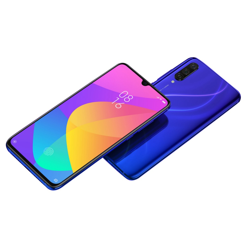 Mi 9 Lite okostelefon 6+64GB, Auróra kék