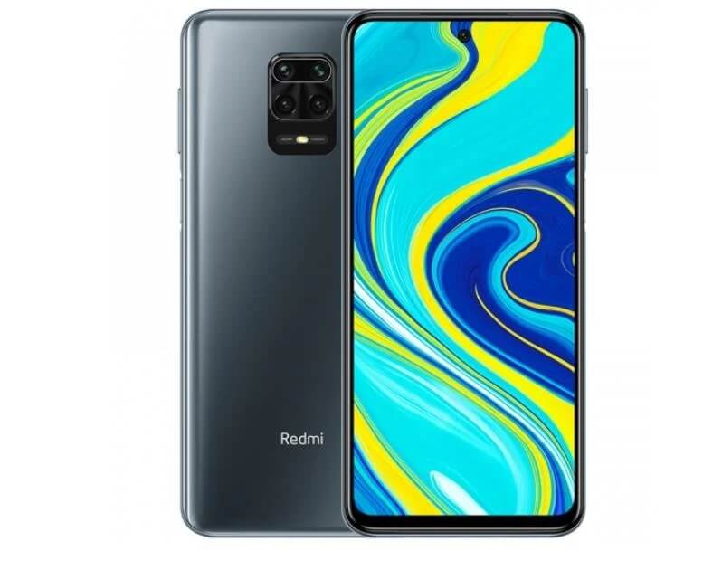 Redmi Note 9S okostelefon (Global) - 6+128GB, Interstellar Grey