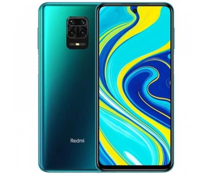 Redmi Note 9S okostelefon (Global) - 4+64GB, Aurora Blue