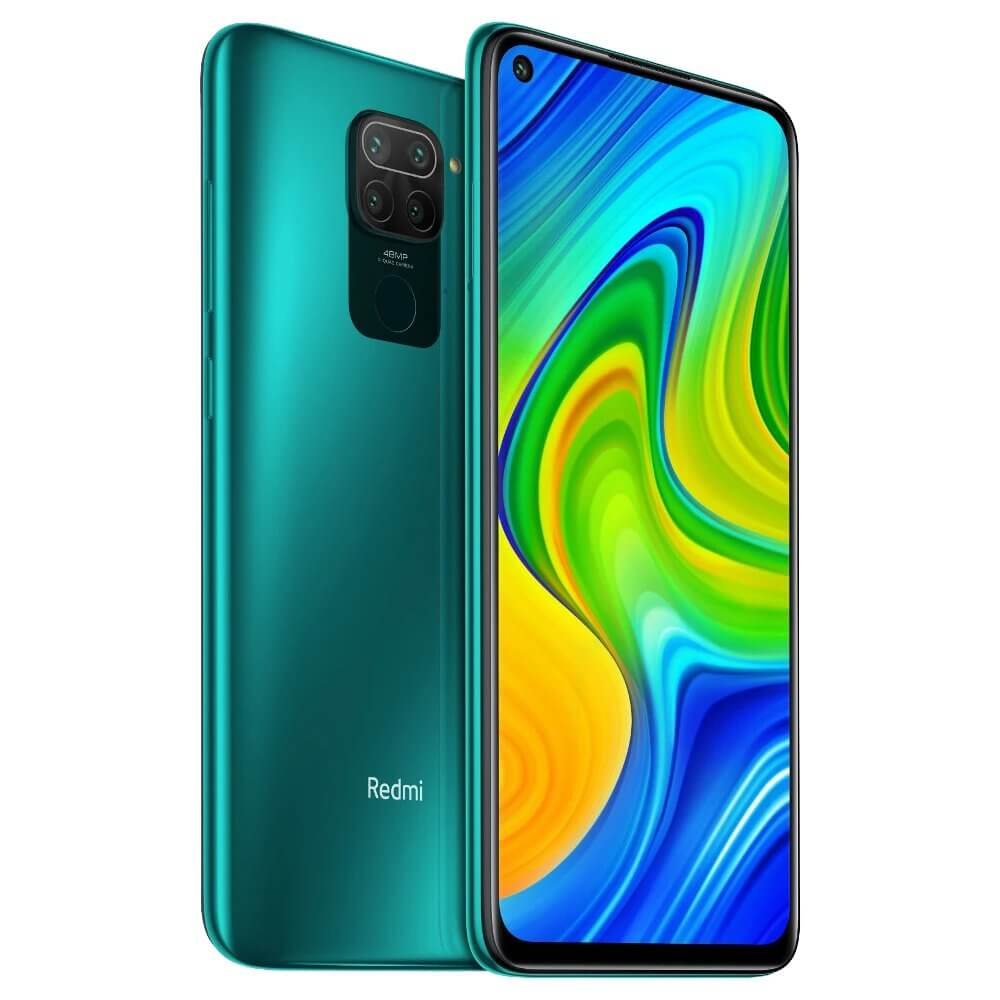Redmi Note 9 okostelefon (Global) - 4+128GB, Forest Green