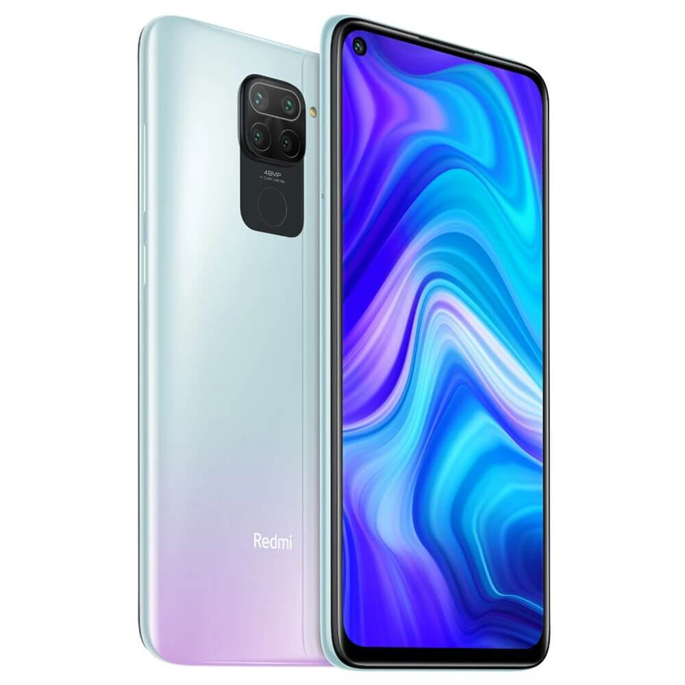 Redmi Note 9 okostelefon (Global) - 4+128GB, Polar White
