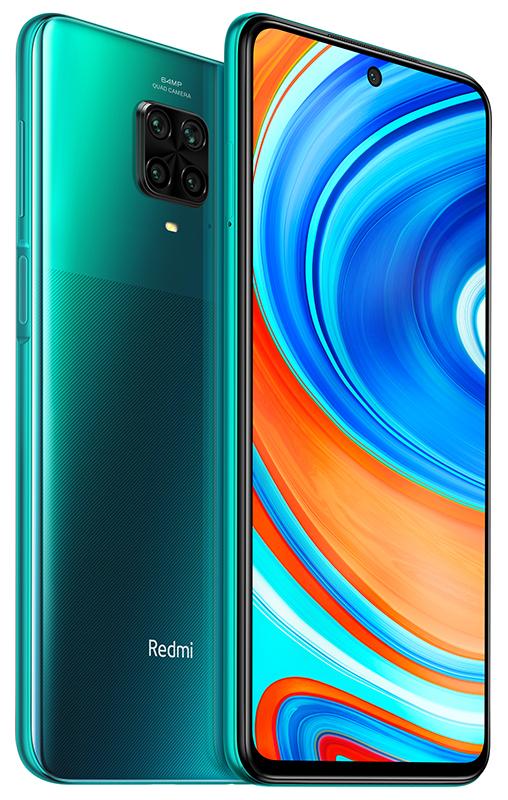 Redmi Note 9 Pro okostelefon (Global) - 6+64GB, Tropical Green
