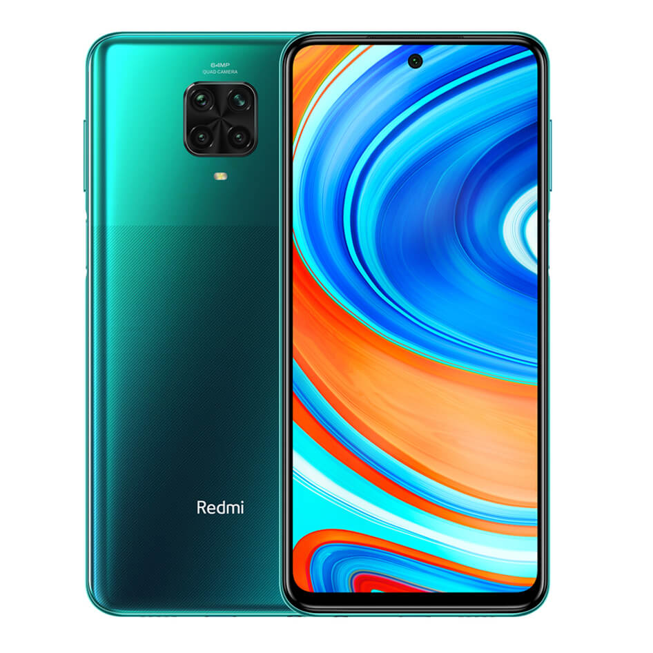 Redmi Note 9 Pro okostelefon (Global) - 6+128GB, Tropical Green