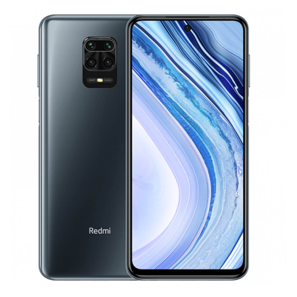 Redmi Note 9 Pro okostelefon (Global) - 6+128GB, Interstellar Grey