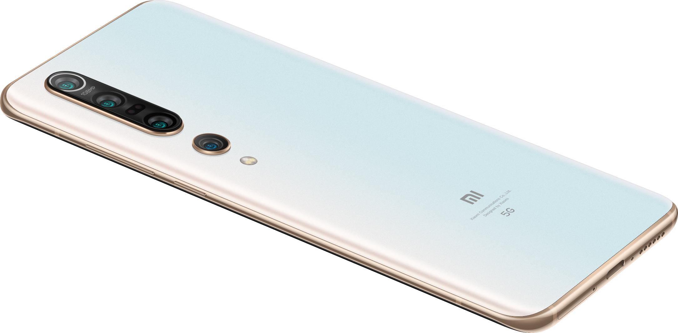 Mi 10 Pro okostelefon 8+256GB, Alpine White