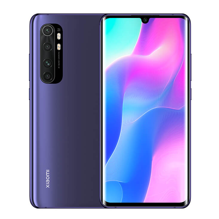Mi Note 10 Lite okostelefon - 6+128GB, Nebula Purple
