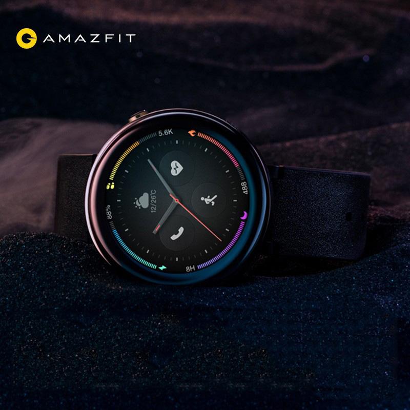 Amazfit Nexo 4G okosóra, fekete