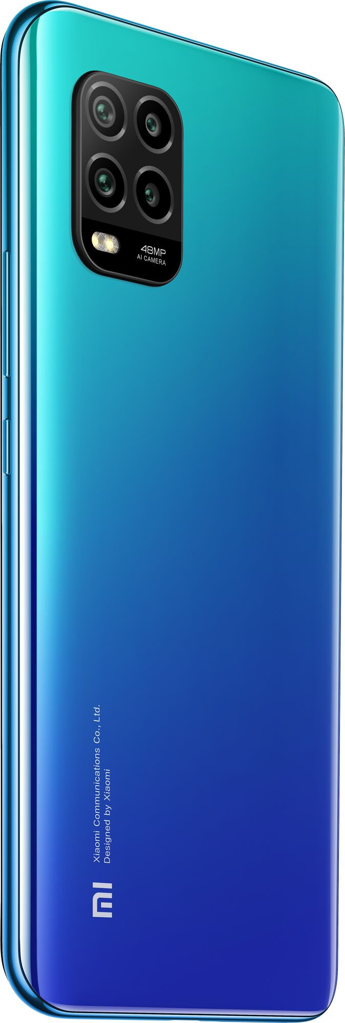 Mi 10 Lite okostelefon 6+64GB, Auróra kék