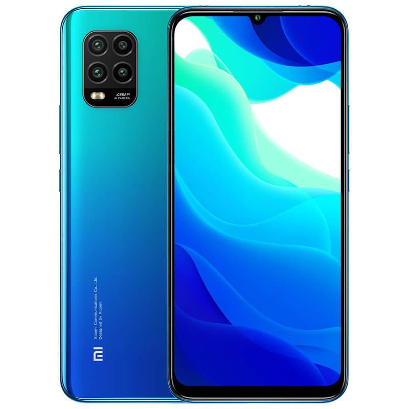 Mi 10 Lite okostelefon 8+256GB, Auróra kék