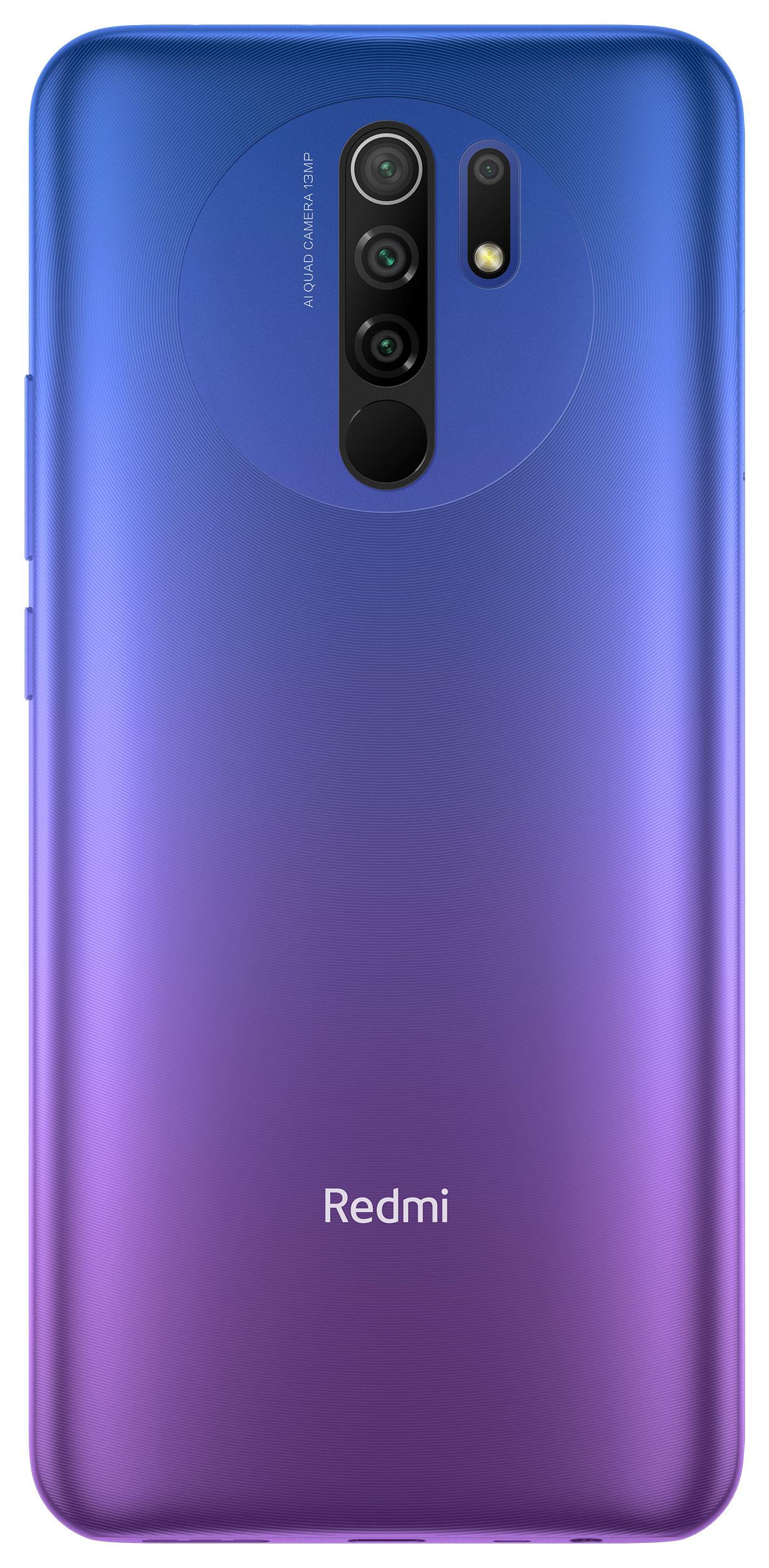 Redmi 9 okostelefon (Global) - 3+32GB, Naplemente lila