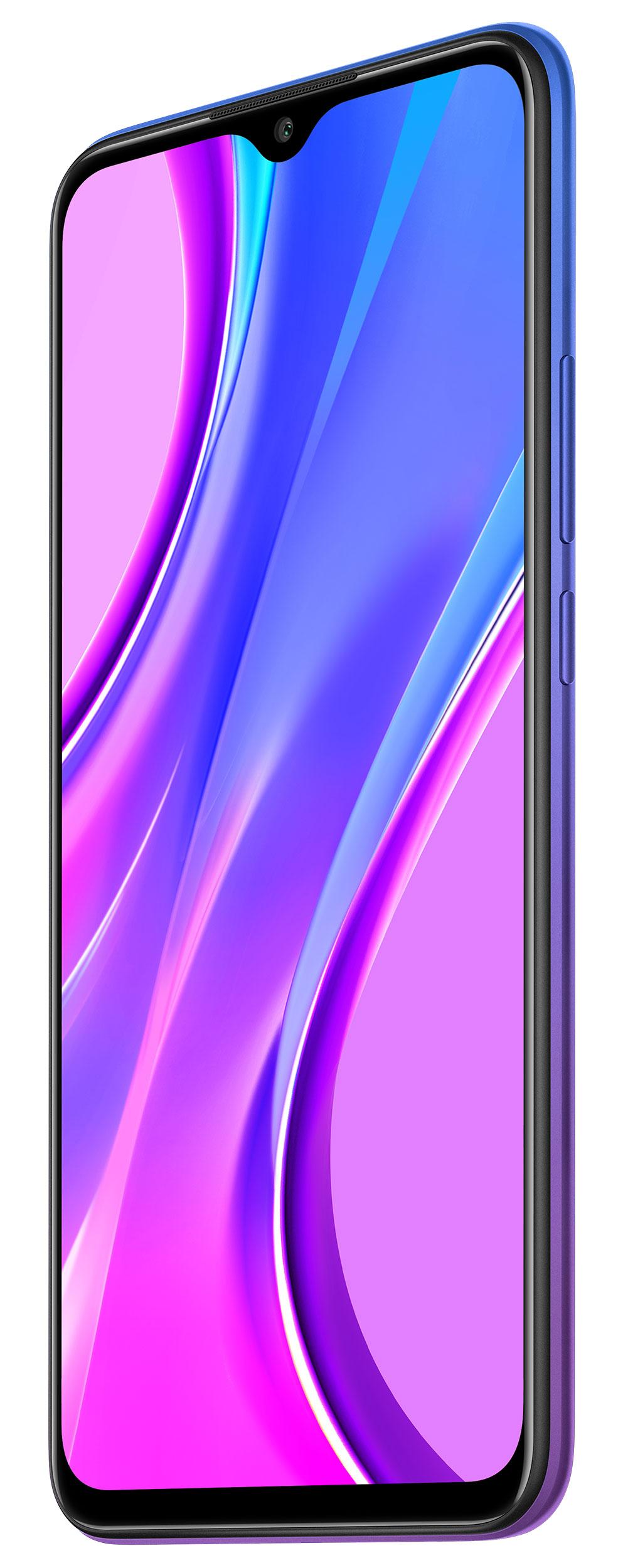 Redmi 9 okostelefon (Global) - 4+64GB, Naplemente lila
