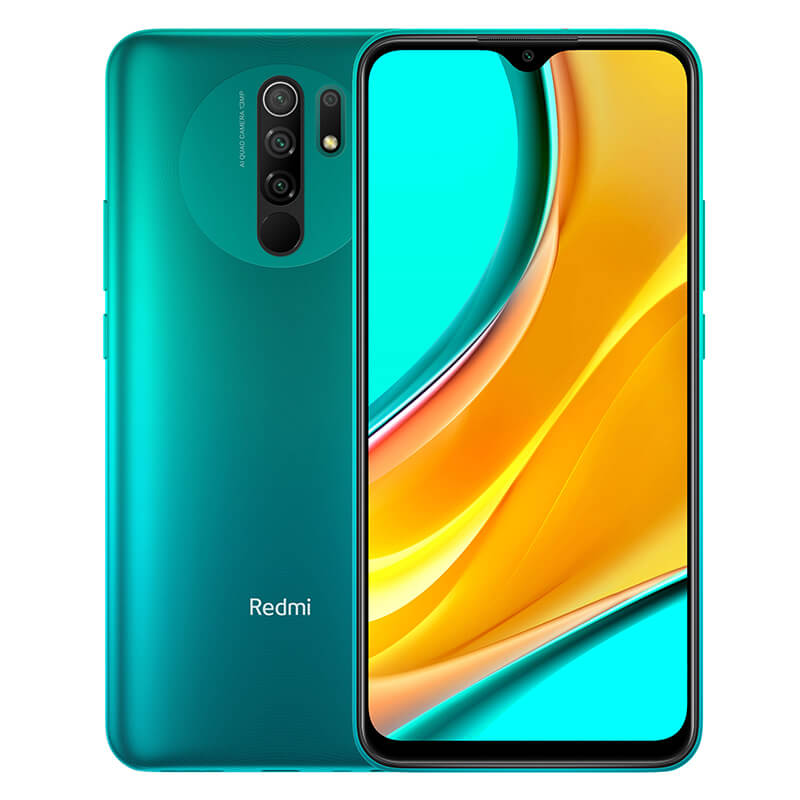Smartphone Redmi 9 - Global - 4+64GB - Verde