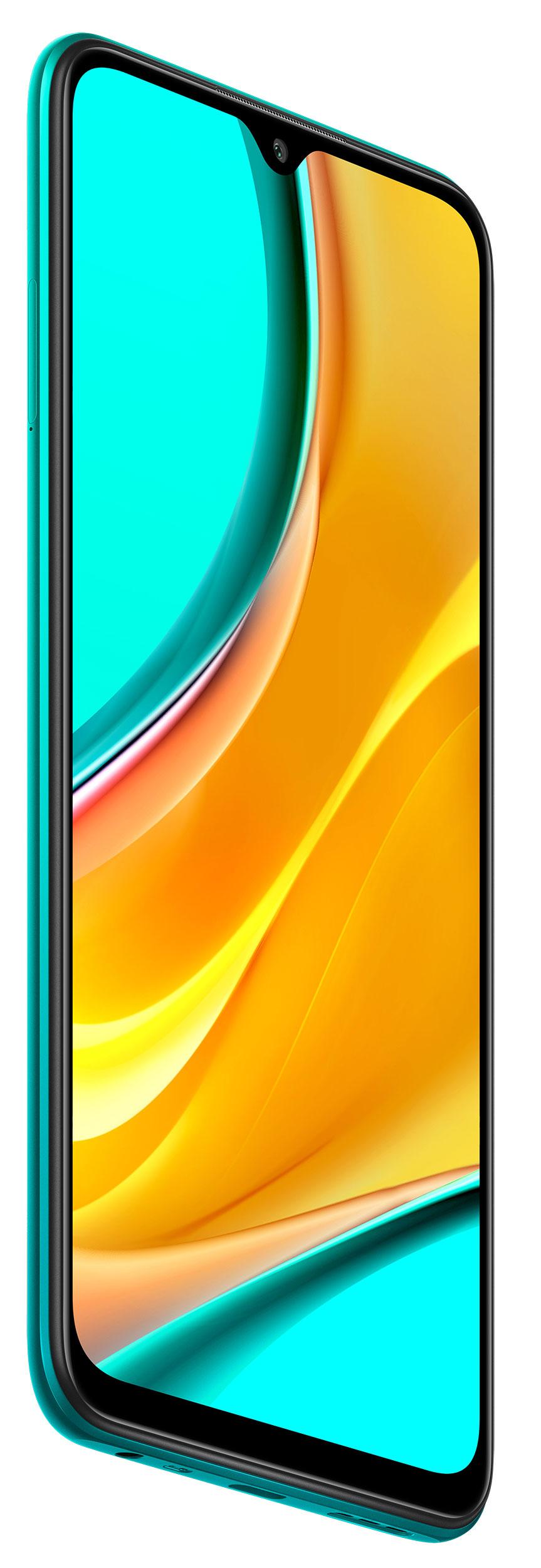 Redmi 9 okostelefon (Global) - 4+64GB, Óceánzöld