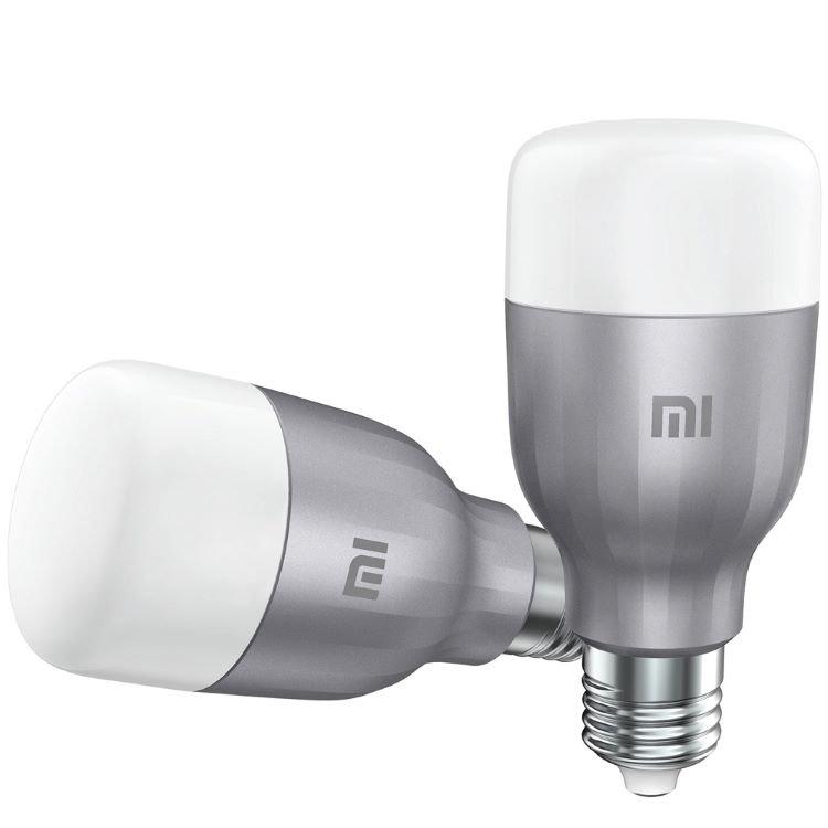 Mi LED Smart Bulb (fehér és színes) okos izzó - Global, 800lm, 2db-os csomag