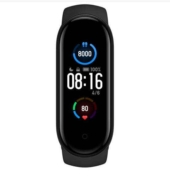 Brățară fitness Mi Band 5 - Global - Neagră