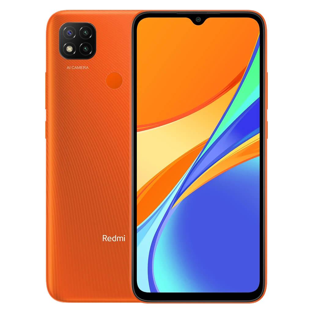 Redmi 9C okostelefon - 3+64GB, Sunrise Orange
