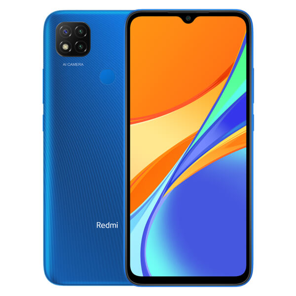 Redmi 9C okostelefon - 3+64GB, Twilight Blue
