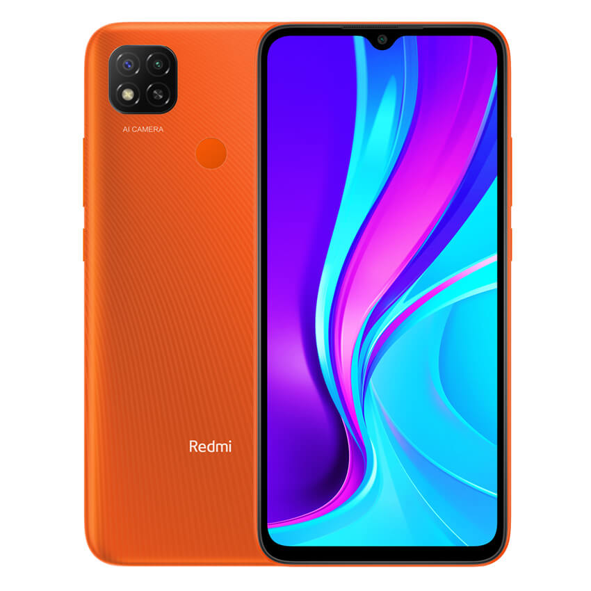 Redmi 9C NFC okostelefon - 2+32GB, Sunrise Orange
