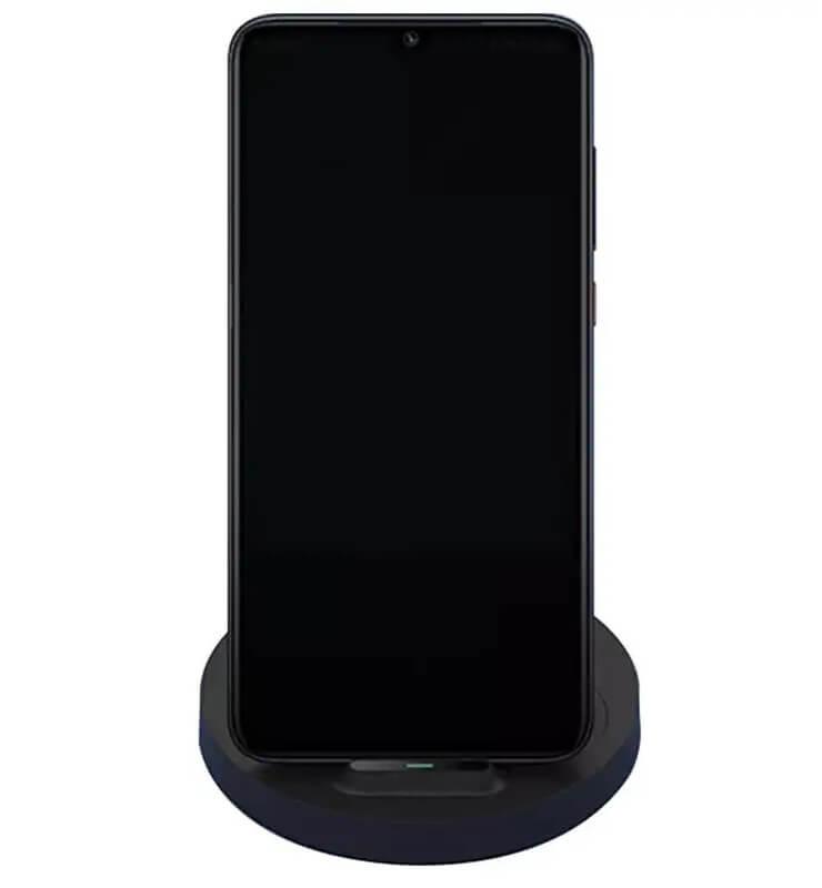 Xiaomi Mi 20W Wireless Charging Stand - Vezeték nélküli töltő, Fekete
