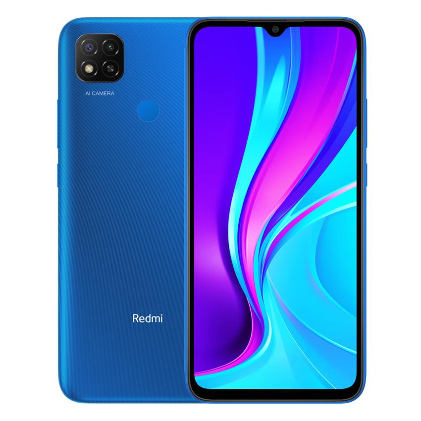 Redmi 9C NFC okostelefon - 2+32GB, Twilight Blue