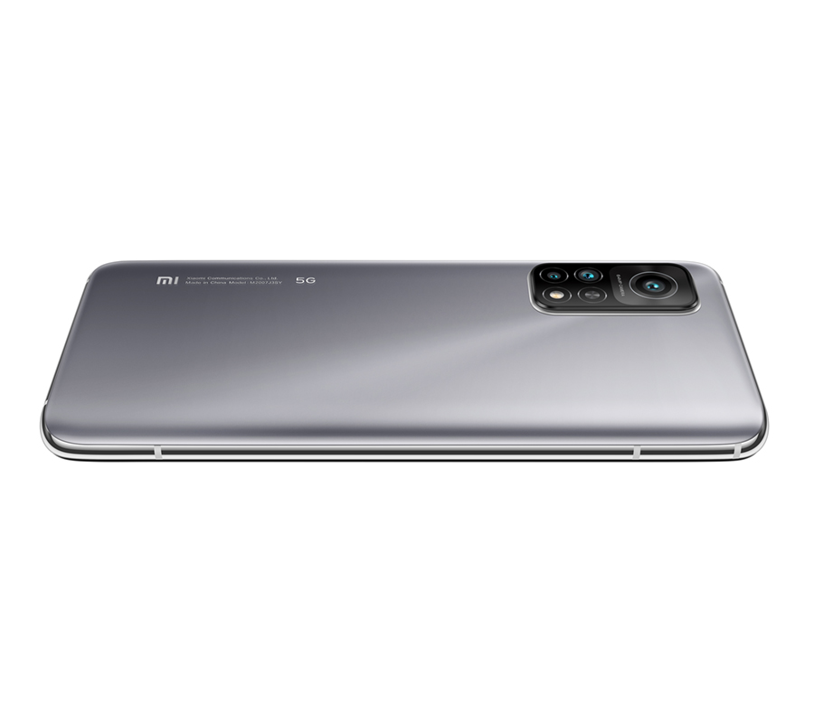 Mi 10T 5G 6GB+128GB, Lunar Silver + Mi Portable Photo Printer + Photo Paper Kit