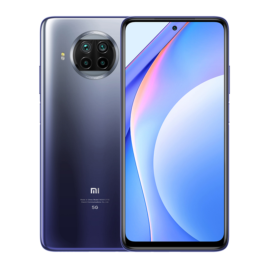 Mi 10T Lite 5G 6GB+128GB okostelefon, Atlantic Blue