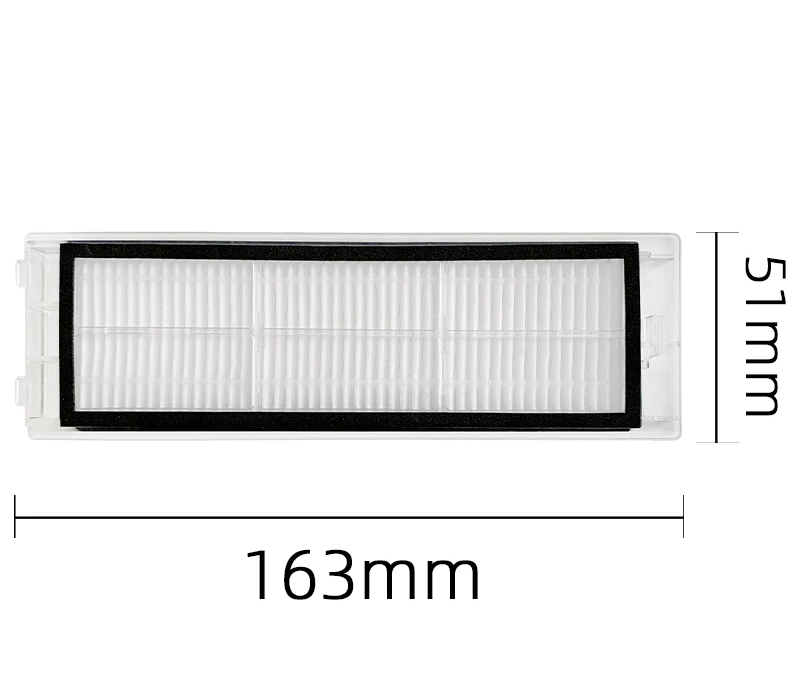Filtru lavabil  Washable HEPA Roborock (2 buc),  remanufacturat (prefabricat)