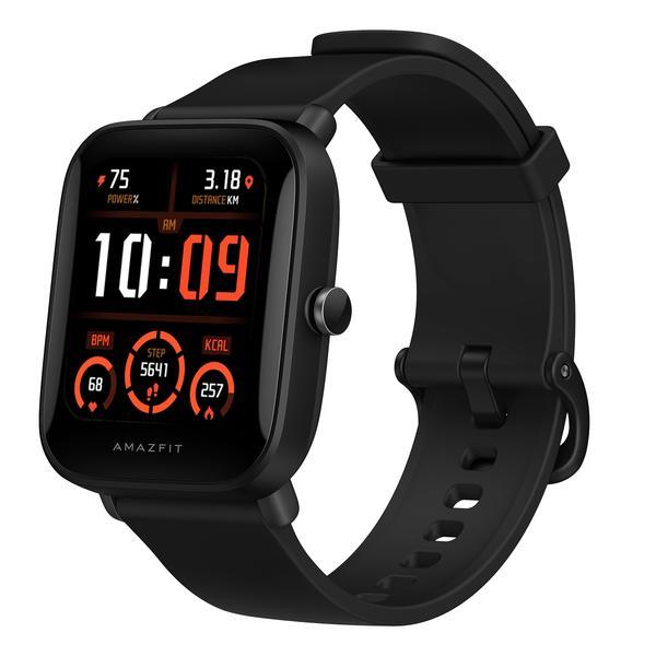 Amazfit Bip U Pro okosóra SpO2 + GPS, fekete
