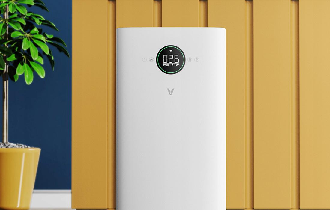Xiaomi VIOMI Smart Air Purifier Pro (UV) - légtisztító UV-C lámpával, fehér