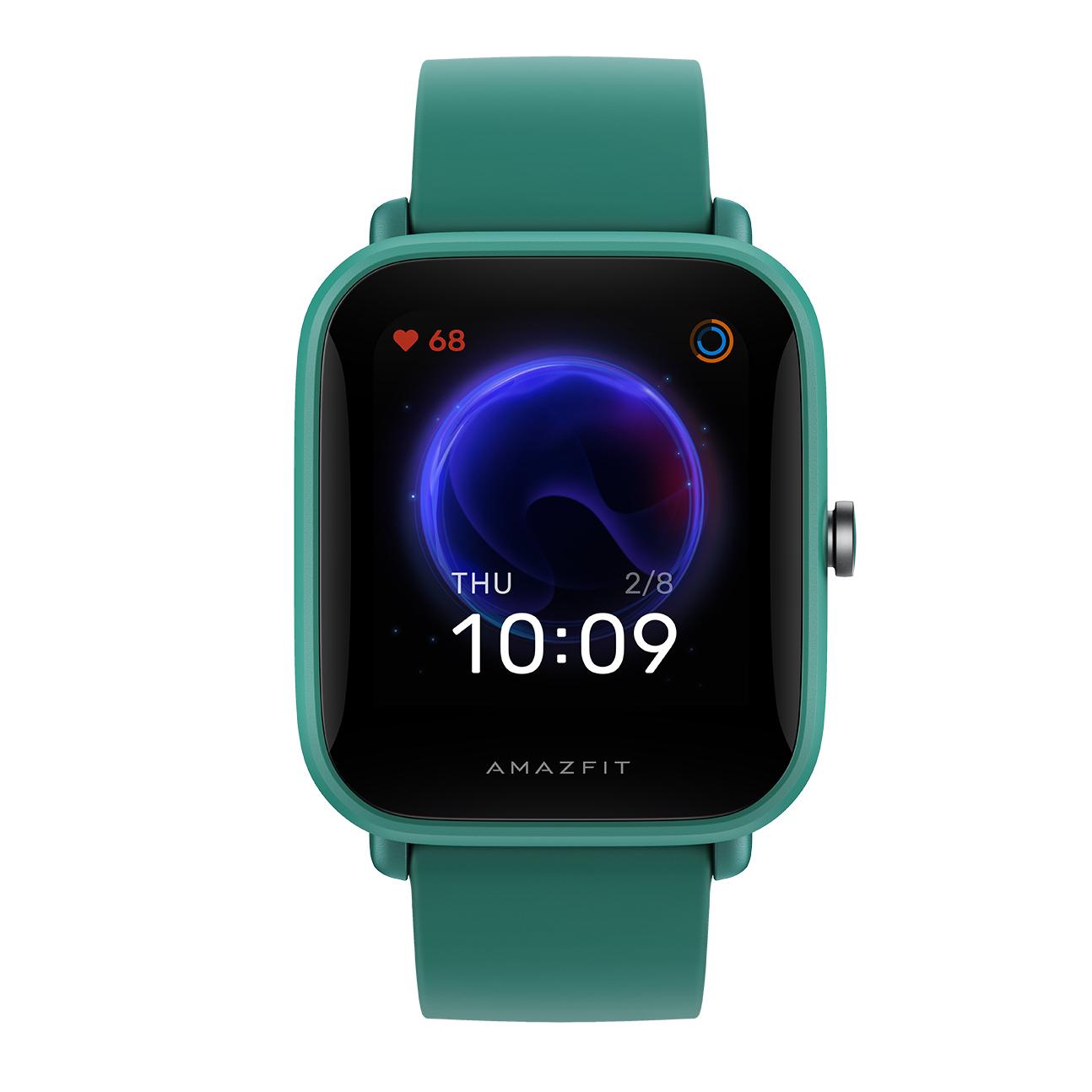 Amazfit Bip U Pro okosóra SpO2 + GPS, zöld