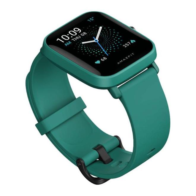Ceas inteligent Amazfit Bip U Pro  SpO2 + GPS, culoarea verde