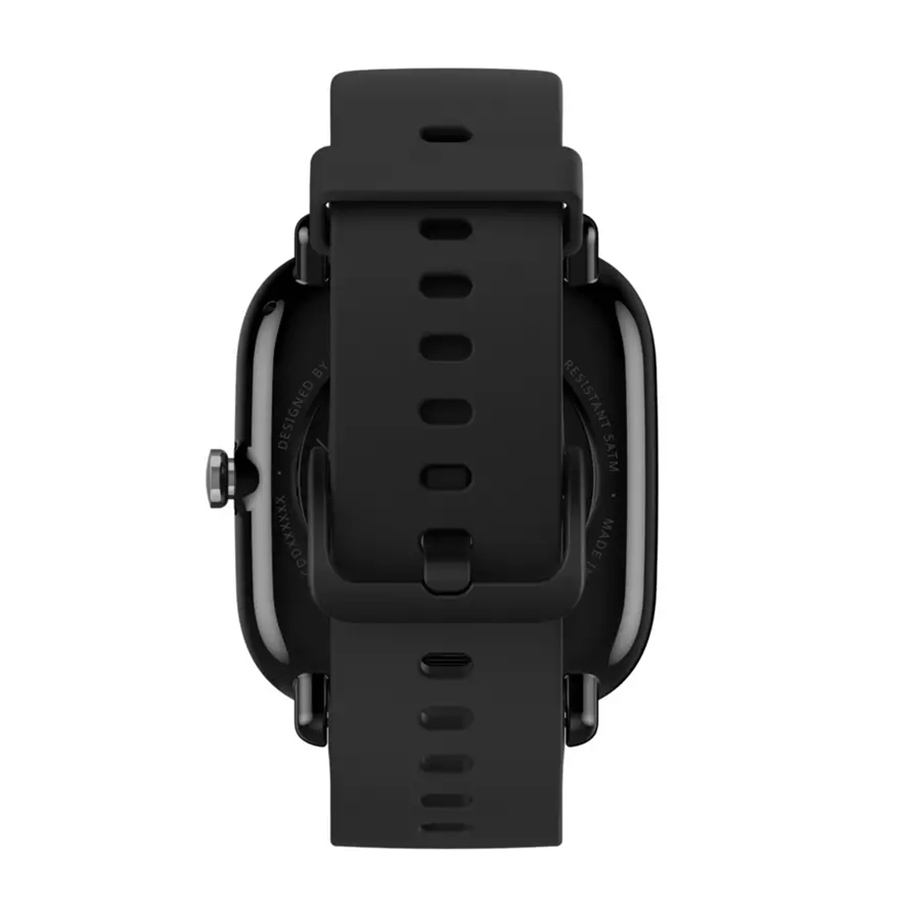 Mini ceas inteligent Amazfit GTS 2 cu măsurare- SpO2 , Midnight Black
