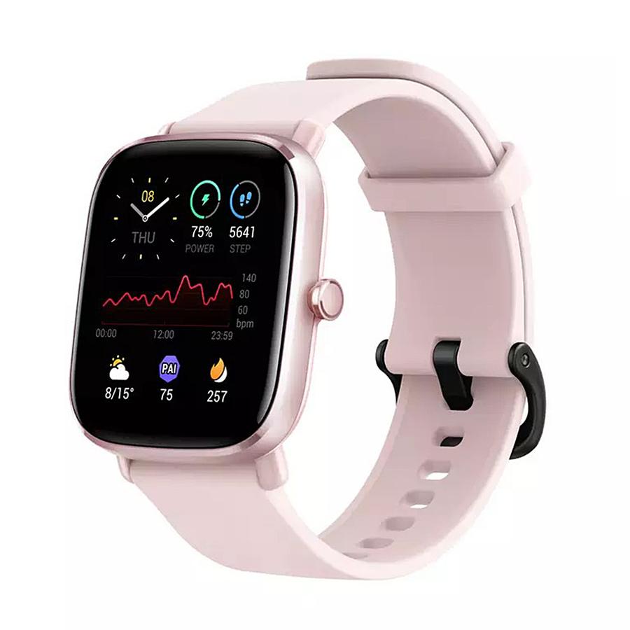 Mini ceas inteligent Amazfit GTS 2 cu măsurare - SpO2 , Flamingo Pink