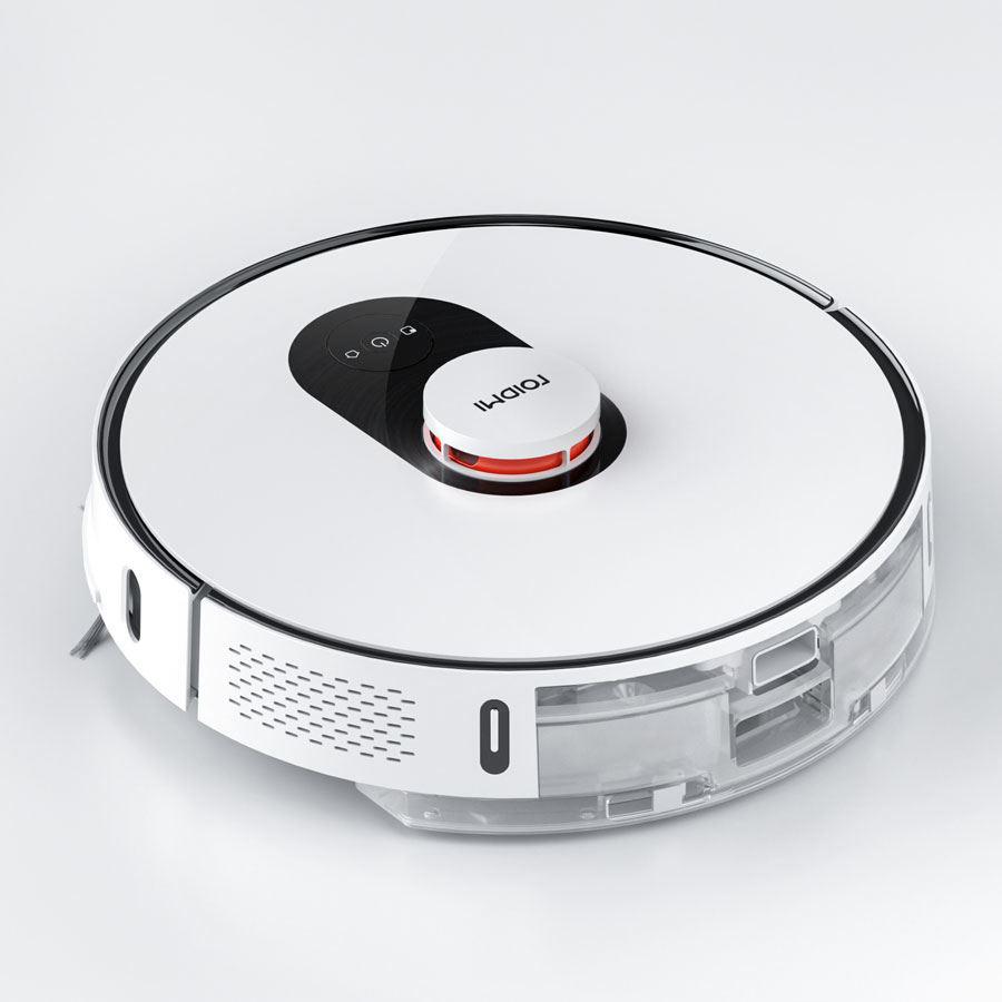 Xiaomi Roidmi Robot Vacuum EVE Plus - cu golire automată, alb