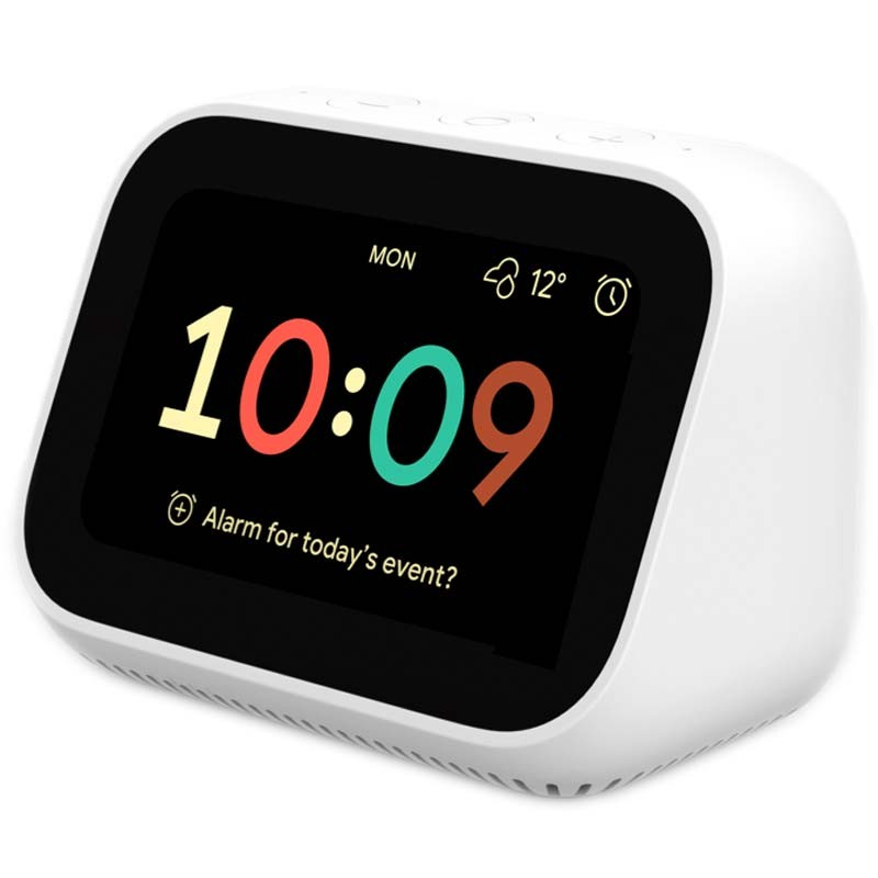 Xiaomi Mi Smart Clock (Google Assistant) - otthoni Google vezérlőközpont, fehér