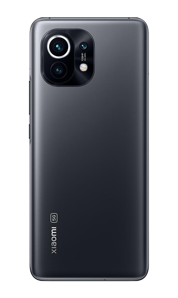 Mi 11 5G 8GB+256GB okostelefon, Midnight Gray
