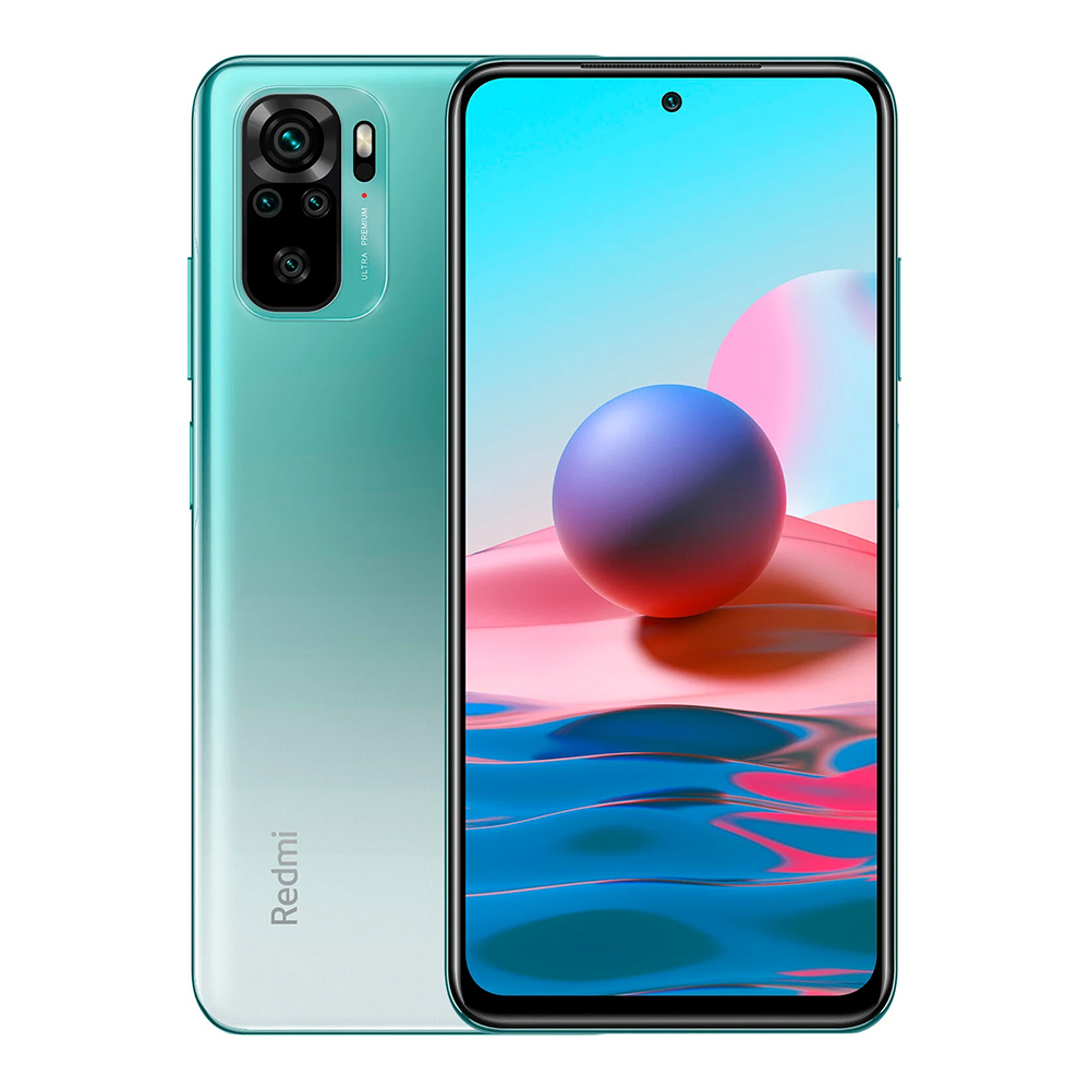 Redmi Note 10 4GB+64GB okostelefon, Lake Green