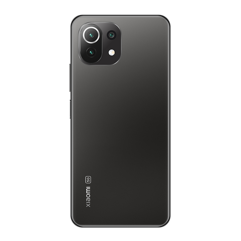 Mi 11 Lite 5G 6GB+128GB okostelefon, Truffle Black