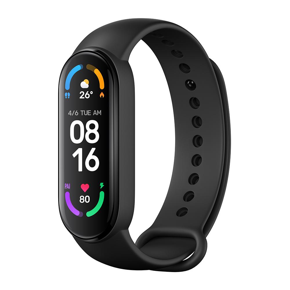 Mi Smart Band 6 aktivitásmérő (Global változat), fekete