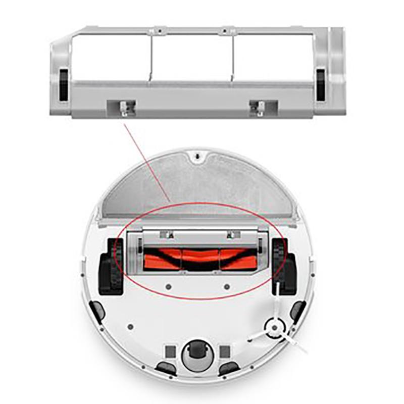 Xiaomi Mi Robot Vacuum-Mop Brush Cover - gyári főkefe keret, fehér