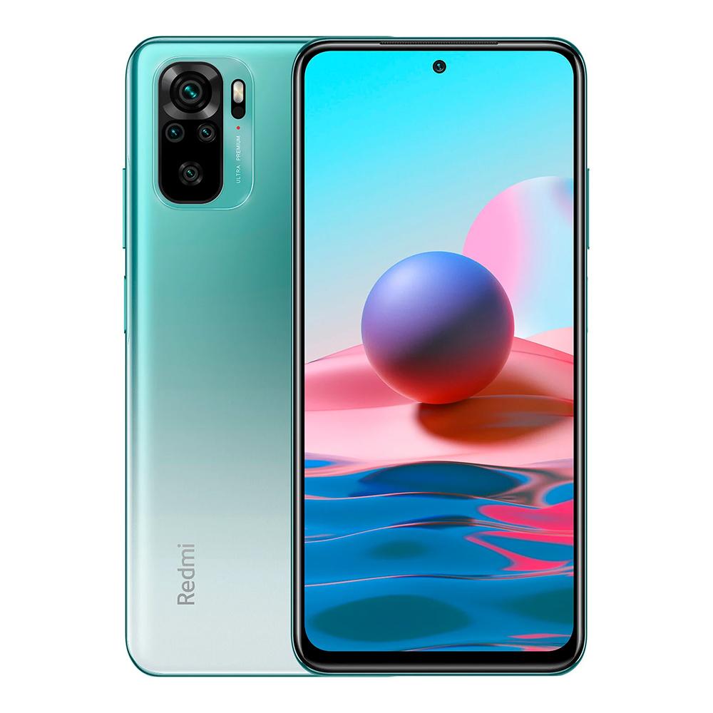 Redmi Note 10 4GB+128GB okostelefon, Lake Green