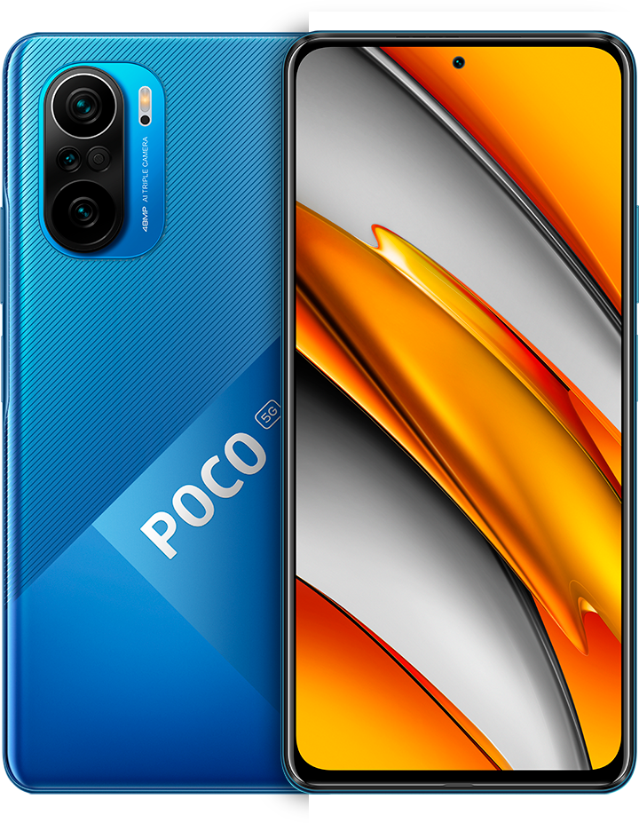 POCO F3 8GB+256GB, Deep Ocean Blue