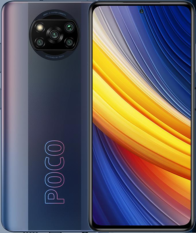 POCO X3 Pro 6GB+128GB, Phantom Black