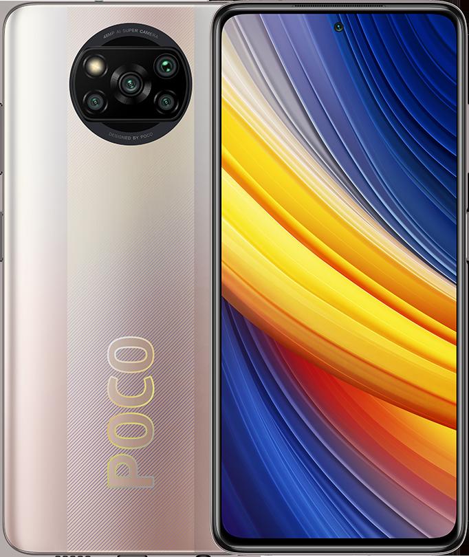 POCO X3 Pro 8GB+256GB, Metal Bronze